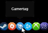 platform profiles popup