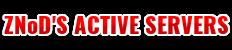 znods active servers